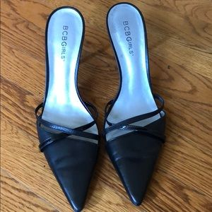 "Beautiful black 4"" pumps"